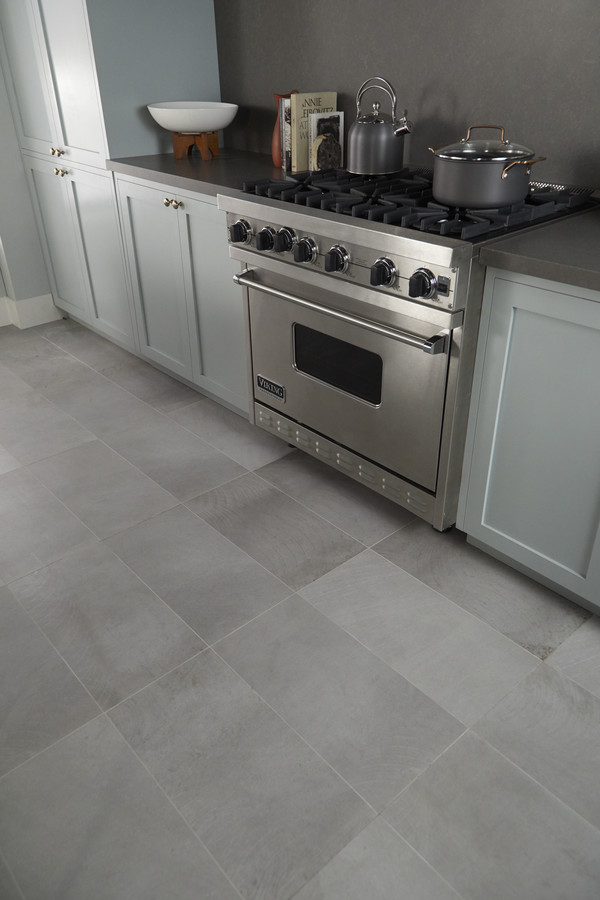 Classic cement look porcelain tile